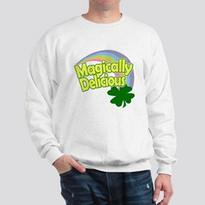 Magically Delicious Pastel Rainbow Sweatshirt
